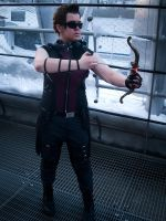 Hawkeye Cosplay by zahnpasta