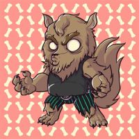 me am Werewuff by pumpkinbear