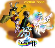 My Little Dashie Part II COMING SOON! by NeonCabaret