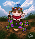 Captain Teemo by TheMysticWolf
