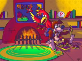Banjo and Kazooie Solve a Puzzle by MetaKnuckles