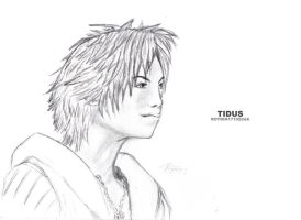 Final Fantasy X - Tidus by aiRoy17