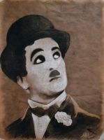 ..cause we all love Charlie Chaplin by the-crazy-painter