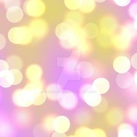 Pink Yellow Bokeh Background by Elle-Arden