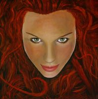 Red Head by William-Carroll