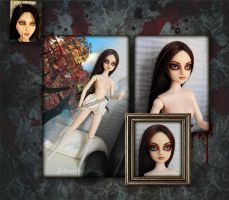 Alice MR Custom OOAK Doll Stage 2 by falinor4eg