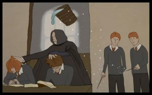 A Prank for Snape by CFJrosa
