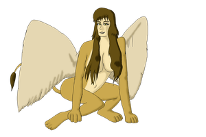 Day 25: Fave (Sphinx) by Starfighterace-421