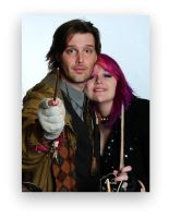 Tonks and Lupin by tonksiford