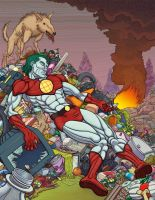 The Death of Captain Planet by PanchoAtomos