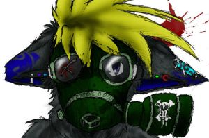 Gas Mask by Digital-Wolf