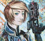 FemShep Speedpaint by MintTea-Pony