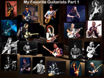My Favorite Guitarists Part 1 by videogameaddict237