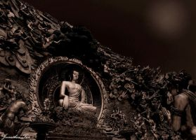 Buddha the enlightened one by joengwenk