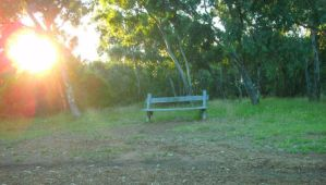 Unattended Bench by the-wire