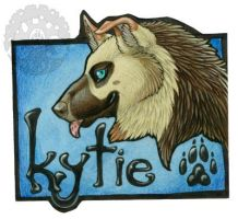 Kytie Badge by Shadow-Wolf