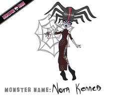 Nora Kenned - Monster High Entry by FortyFourArrows