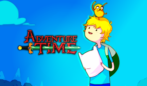 Adventure Time Wallpaper by Mabakun