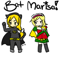 Bat Marisa and Ralice by KrazyCatQueen