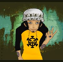 Trafalgar Law by TigerDRena