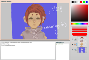 iscribble doodle by ChickenFingerParty