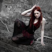 Grunge Red by Rage-Red