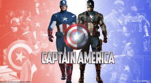 Captain America Then and Now Wallpaper Widescreen by Timetravel6000v2