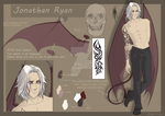 Jonathan Ryan | character sheet | by LadyX-LT