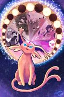 Espeon Used Future Sight! by Mokka-Quill