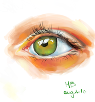 Eye-Practice Sketch by SpookCake