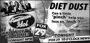 American Idol Diet Dust by PatrickJoseph