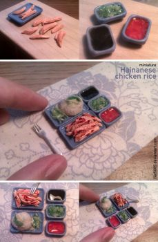 Miniature: Hainanese chicken rice by fiat500S
