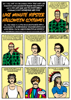 Hipster Halloween Costumes by jevanlee
