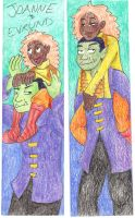 bookmark Joanne and Evrund by Fevley