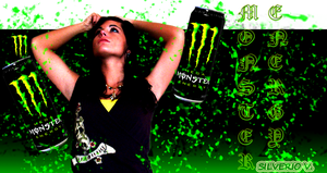 Monster Energy Drink by silver2545
