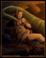 Star Wars - Slave Leia - by diabolumberto