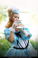 STOCK - Duchess 01 (Tea Party) by LienSkullova
