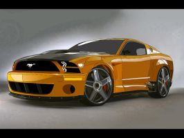 Mustang Toon by DomNader