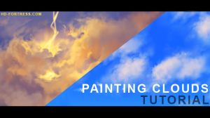 Painting clouds - tutorial vid by randis
