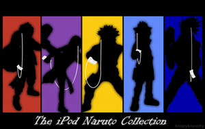 iPod-naruto collection by krispykrunchy