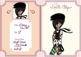 Vanilla-Village group app: Oreo Mint by Lunamoon6657