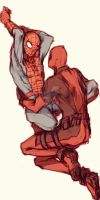 Spideypool25  by LKiKAi