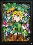 Vitral Zelda The Minish Cap by pedroloko