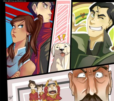 the legend of korra by MaDe-WhIt-LoVe