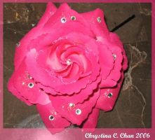 Prom accessories Rose Pin by powerfulgoddess