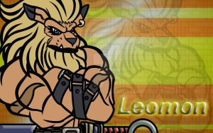 Leomon by NegaHumanX
