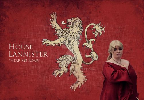 Cersei Lannister Banner by Thaea1402
