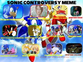 My Sonic Controversy Meme by FireMaster92