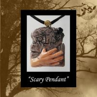 Scary Pendant by KabiDesigns