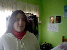 Me in a white hoodie and no glasses by Im-Albert-Wesker